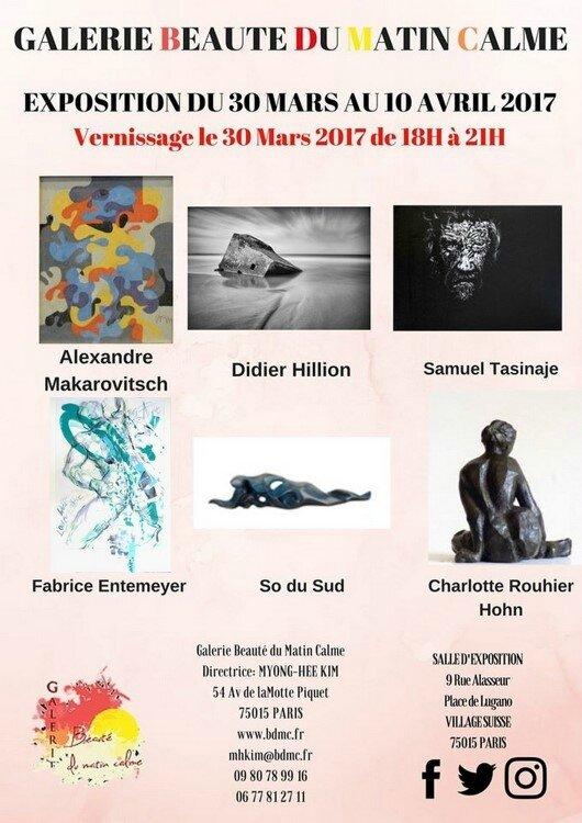 Affiche BDMC Mars Avril 2017