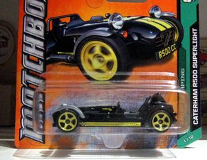 Caterham R500 superlight (Matchbox)