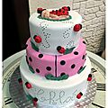 Cake Coccinelle