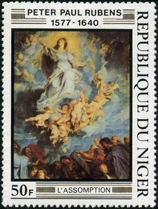 L'Assomption by Rubens