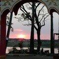 Coucher de soleil, Savannakhet