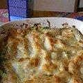 Lasagne aux deux saumons et aux brocolis