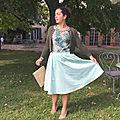 La jupe betty mint presque midi