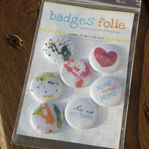 BadgesFolie