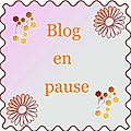 Blog en pause