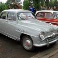 Simca aronde deluxe de 1955 (Retrorencard mai 2010) 01
