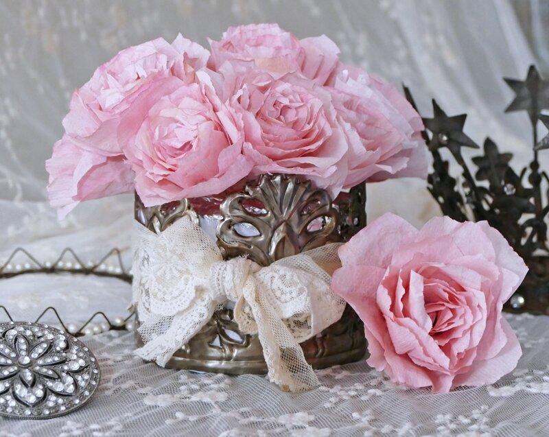 pique fleurs shabby chic perle de lumi res cr ation d 39 abat jour et d coration shabby chic. Black Bedroom Furniture Sets. Home Design Ideas