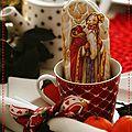 C'est la saint nicolas......recette pain d'épices pour personnages de fête....