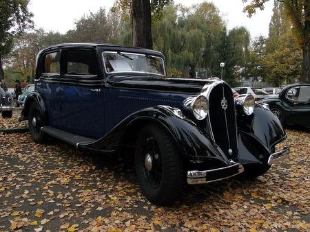 HOTCHKISS Type 615 1934 Retrorencard 2