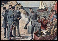 Exil de Manuel II