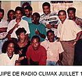 L'équipe radio climax