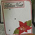Carte magnolia, sketch janvier