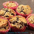 Muffins noix de coco & pépites de chocolat