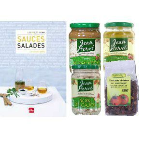 Coffret sauces salades