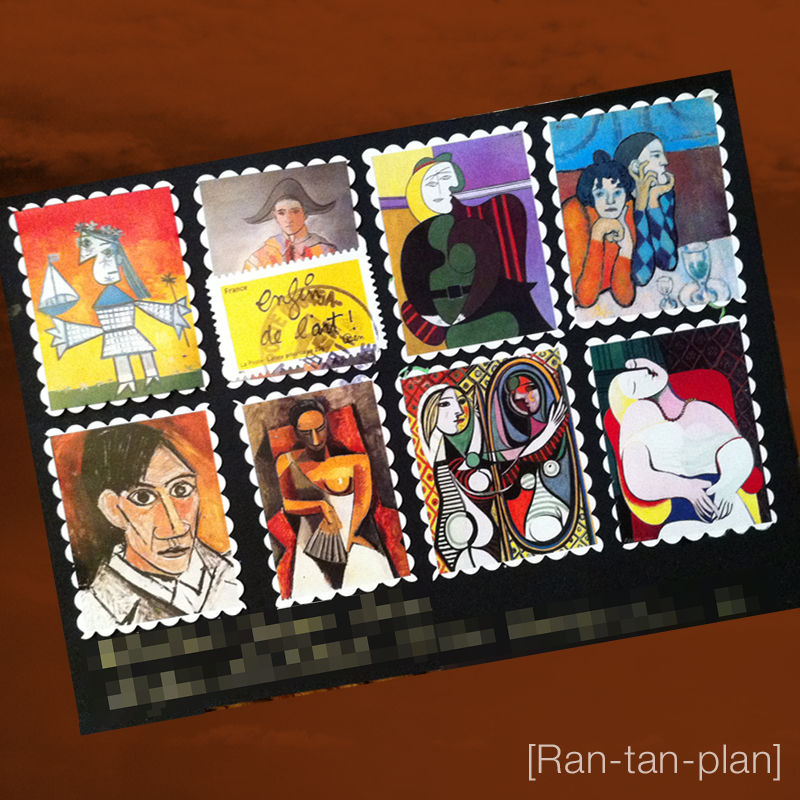 Ran-tan-plan Picasso recto