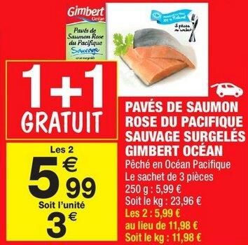 Carrefour Market - Pavés de Saumon du 12 au 24 juillet 2016