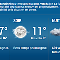 METEO MESSINE LUNDI 14 AVRIL 2014