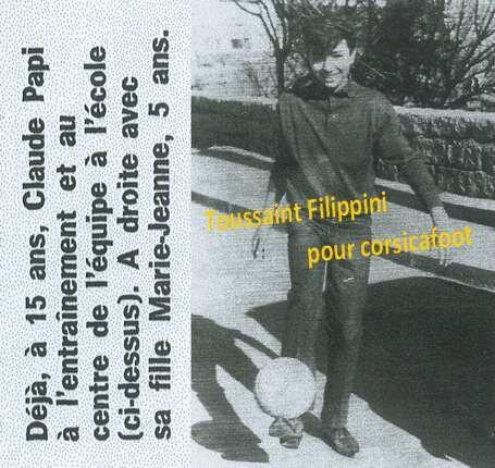 015 1063 - MEP - Filippini Toussaint - Claude Papi - Ses débuts à 1967