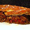Empanada au thon et aux poivrons