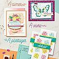 Catalogue printemps/été et sale-a-bration....