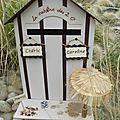 Urne cabine de plage