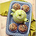 Muffins framboise-chocolat blanc