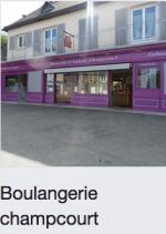 Boulangerie Champcourt