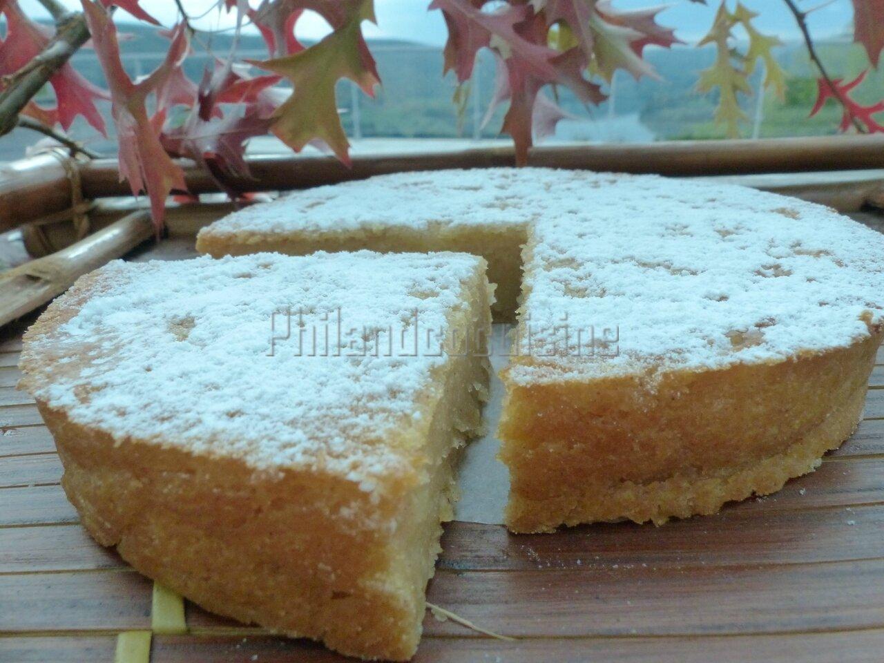 Gâteau à la compote de pomme ou Apfelmuskuchen