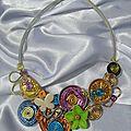 Premier collier multicolore