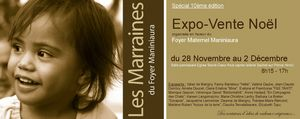 Invitation EXPO-VENTE foyer 2012