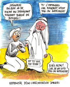 Repentir d'un caricaturiste danois