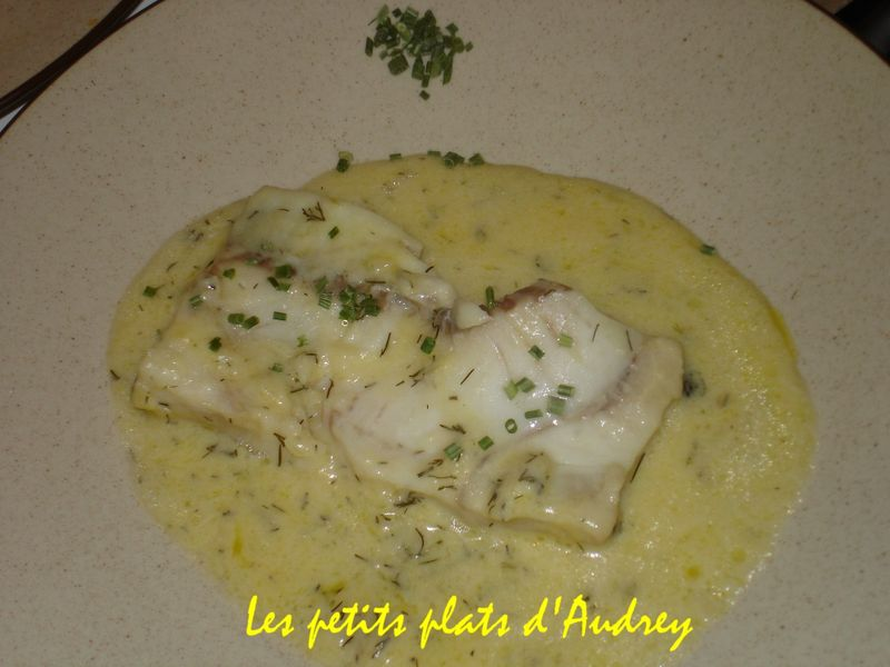 Filet de colin sauce hollandaise beurre citron - Cuisiner du colin surgele ...