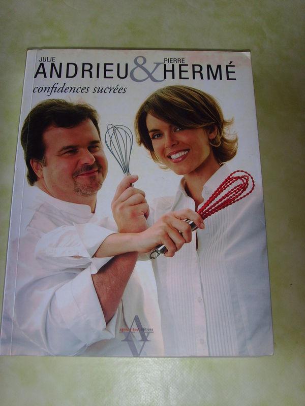 Pot de départ, cadeau reçu: Confidences sucrées, Julie Andrieu & Pierre Hermé