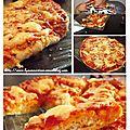 La pizza au fromage de tatie
