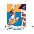 essai couleur pour le café de l'Atlantic