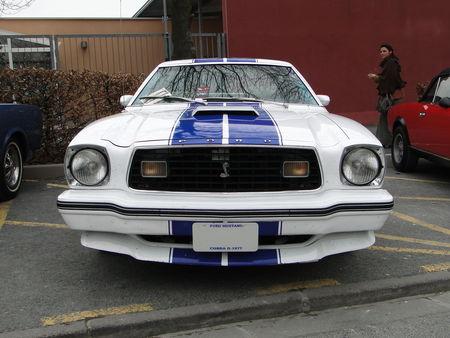 FORD Mustang Cobra II Hatchback Coupe 1977 Salon Champenois du Vehicule de Collection de Reims 2010 1