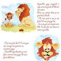 bébé lion découvre sa 1ère dent