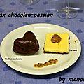 Moelleux chocolat passion