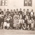 Lycéennes & lycéens à mangin en 1955-56