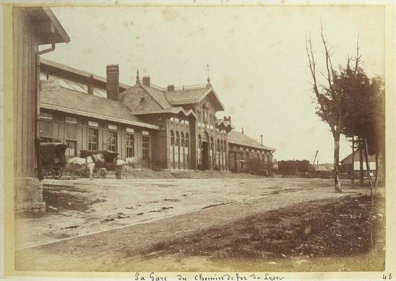 gare Viotte photo ancienne collection moutrille