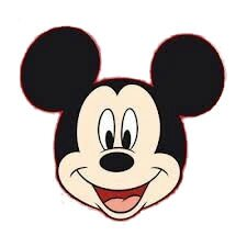 Mickey pisode in dit au pays de candice - Coloriage tete mickey ...