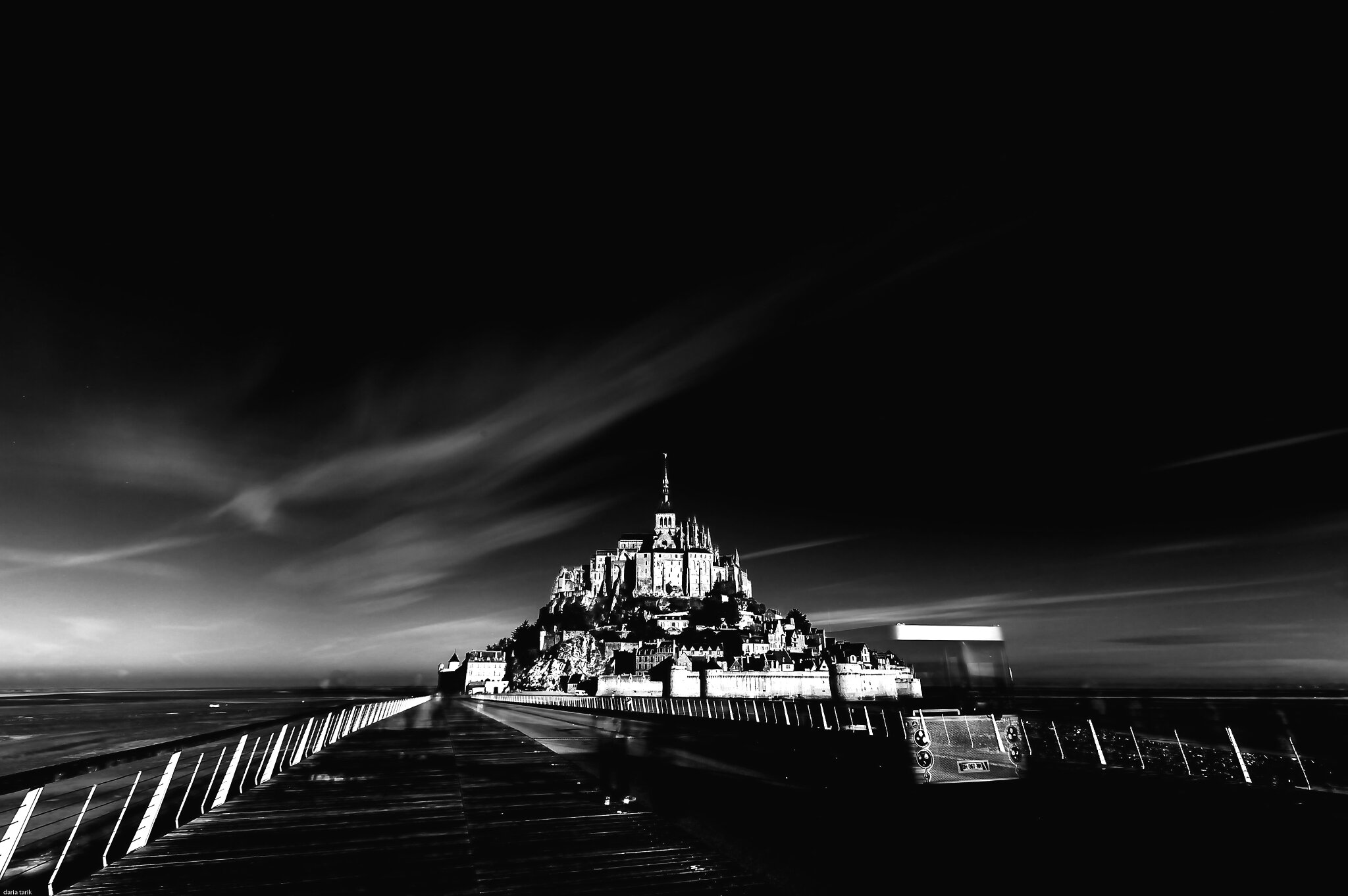 Les fantômes du Mont Saint Michel ....