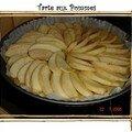 Tarte aux pommes (sans beurre)