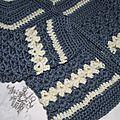 Gilet 1-3 mois Crochet laine Idéal Meije Persan 5
