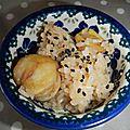 Riz aux chataignes 栗ご飯(kurigohan)