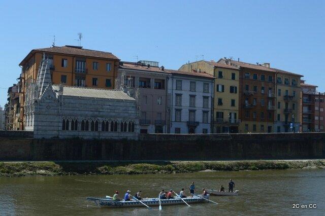 Les bords de l'Arno - Pise - Italie