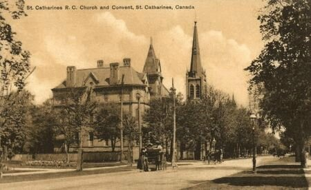 St Catharienes, Ontario-église