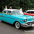 Chevrolet bel-air 4door sedan de 1957 (Retrorencard aout 2011) 01