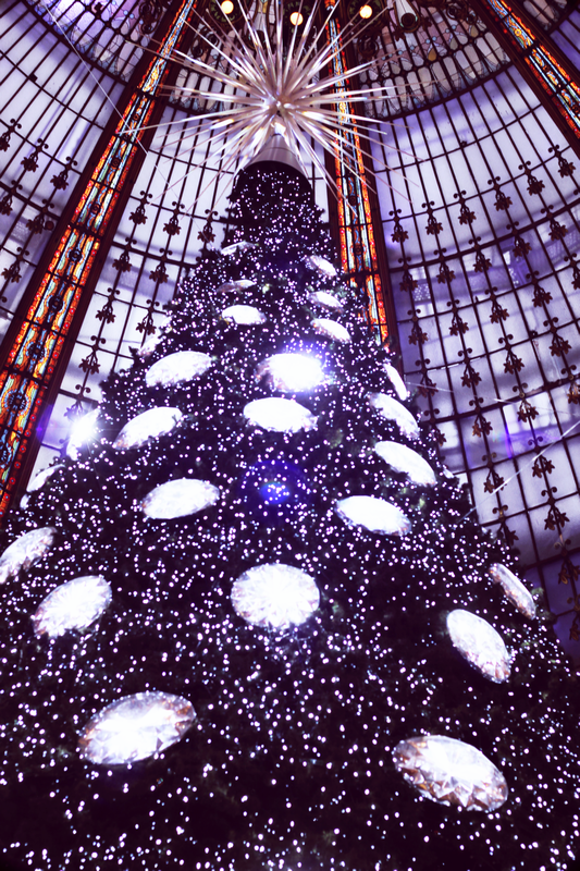Christmas tree from galeries lafayette