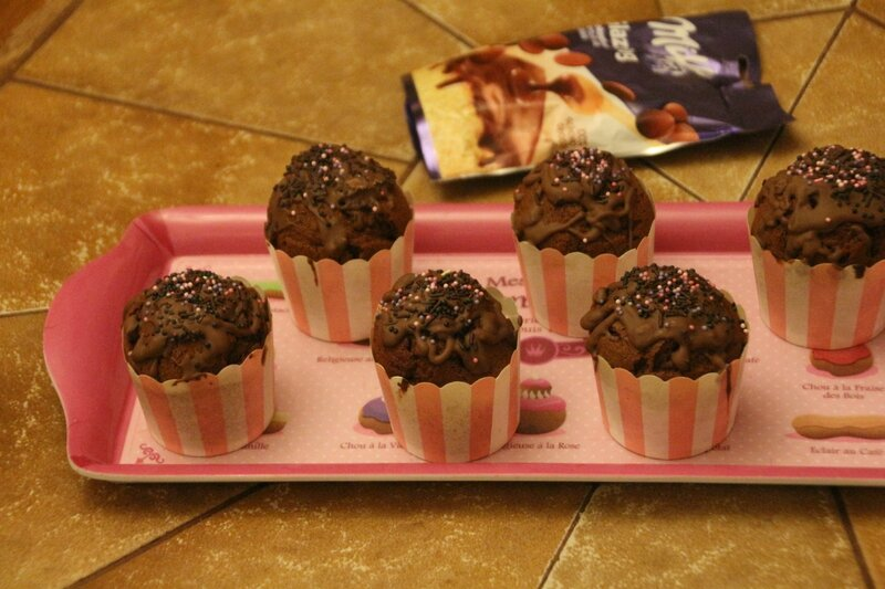 cup cakes choco nutella (2)